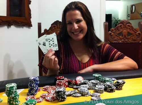 Tarsila - PDA - Poker dos Amigos - 2011